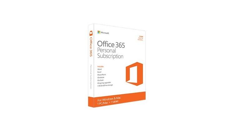 Microsoft Office 365 Personal,
