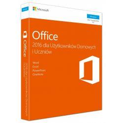 Microsoft Office Home and Student 2016 Polish PKC Box