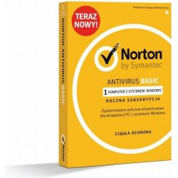 Symantec Norton Antivirus Basic PL 1 USER 1 DEVICE 12M